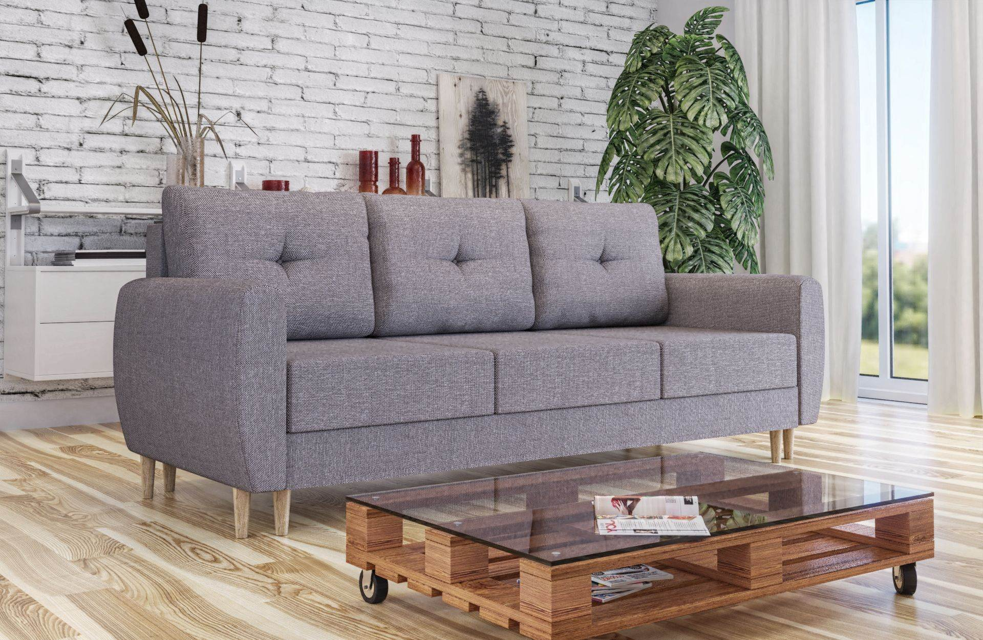 Sofa RITA z funkcją spania